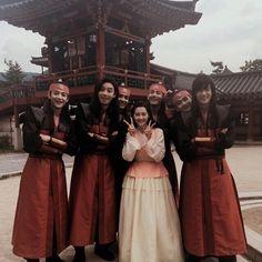 Hwarang: The Poet Warrior Youth Go Ara, Park Hyung Sik, Asian Actors, Korean Actors, Korean Dramas, Do Jihan, Park Seo Joon, Kdrama Actors, Boys Over Flowers
