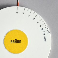 Braun electrical - Audio - Braun Tonarmwaage
