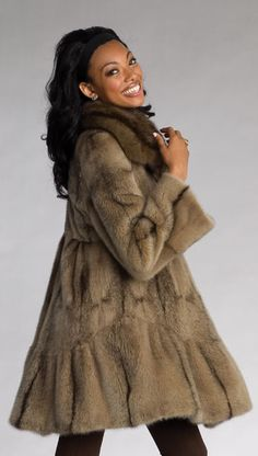 Mink & Sable Fur Jacket