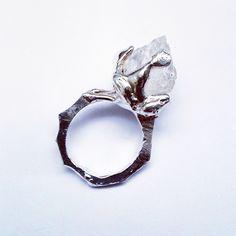 Lizzie Slattery Jewellery - sterling silver and quartz. https://www.etsy.com/au/shop/LizzieSlatteryJewels