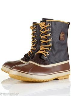 deba6739e61 SOREL Mens Premium T CVS Lace Up Brown Boots Apres Ski Outfits, Boots Online ,