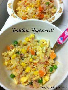 cauli rice toddler approved