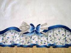 artesanato em pano de prato com tecido - Pesquisa Google