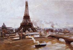 Paul Louis Delance Tour Eiffel - Tour Eiffel — Wikipédia