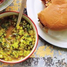 Fresh Pickle Relish Recipe - Bon Appétit