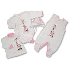 Kojenecká souprava se žirafkou. #děti #kojenci Onesies, Baby, Clothes, Fashion, Outfits, Moda, Clothing, Fashion Styles, Kleding