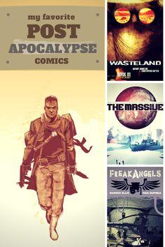 Post-Apocalyptic Comics I Love (A Lot) - a Graphic Novel reading list at Planet Jinxatron