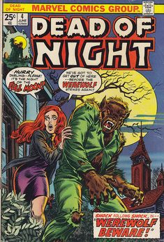 werewolf and dead of night image