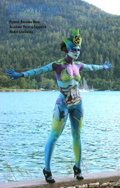 World Bodypaint Festival - Artificial Intelligence made by RoxaRosa