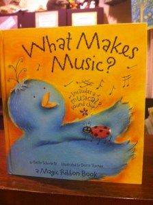 What Makes Music - books for classroom