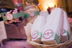 Chinese takeout boxes for candy buffet