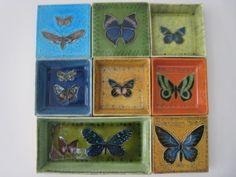 Rut Bryk ceramics butterflies Finland