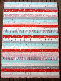 jelly roll race quilt written instructions