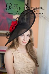 5ee61fbcee9 Kate by Polly Singer Couture hats   veils Ladies Hats