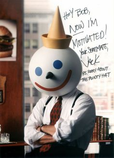 Jack In The Box Mascot Head