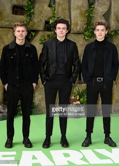 George Smith Photos - George Smith, Blake Richardson and Reece Bibby of New Hope Club attend the 'Early Man' World Premiere held at BFI IMAX on January 2018 in London, England. - 'Early Man' World Premiere - Red Carpet Arrivals New Hope Club, A New Hope, Club Style, My Style, Blake Richardson, Reece Bibby, New Month, Mans World, The Vamps
