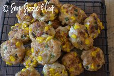 Chicken and corn nuggets - Snap Sizzle & Cook Corn Nuggets, Picnic, Lunch Box, Frozen, Homemade, Snacks, Fresh, Meat, Chicken