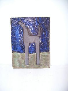 ceramic horse tile by the mud horse, via Flickr
