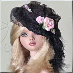 OOAK doll hat