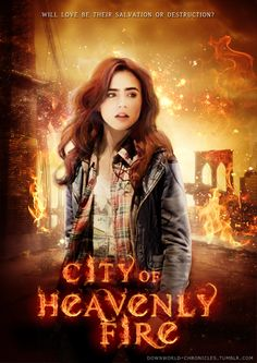Will love be their salvation or destruction?    COHF Character Poster - Clary