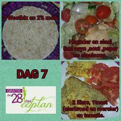 dag 7 Diet Recipes, Recipies, Healthy Recipes, 28 Dae Dieet, Dieet Plan, Dash Diet, Day Plan, 28 Days, Healthier You