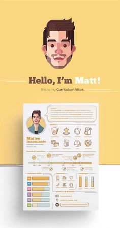70 Creative & Beautiful Resume Examples to Get Inspired - Hipsthetic