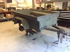 Building our M416 Military Trailer