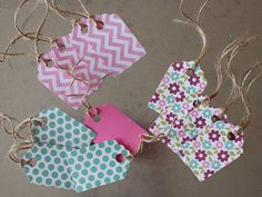 Assorted Gift Tags 12 Pack by LYHHandmadeGifts on Etsy Love Your Home, New Shop, Gift Tags, Packing, Unique Jewelry, Handmade Gifts, Cute, Blog, Shopping