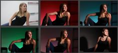 In this video, Gary Fong shows step-by-step how to create a dramatic studio effect using only two speedlight flashes, Gary Fong Color Domes and a Gary Fong S...