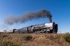 South African Railways, Steam Locomotive, Big Boys, Landscape Photography, Diesel, Smoking, Engineering, History, World