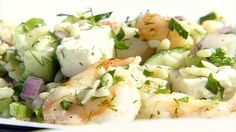 Roasted Shrimp and Orzo Recipe : Ina Garten : Food Network