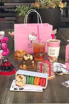 Everything You HAVE to Order at the New Hello Kitty Cafe