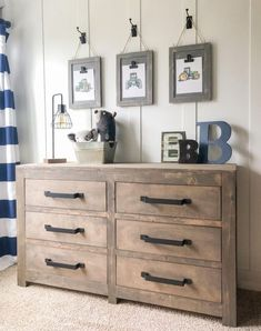 DIY Modern Farmhouse 6 Drawer Dresser - Shanty 2 Chic