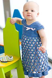 Ravelry: knitwithluv's Mauve Summer Toddler Bella Dress