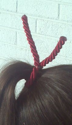 Twizzler Hair Tie by ShindigApparel on Etsy, $5.00