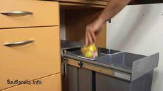 Kosze do kuchni z segregacją odpadów