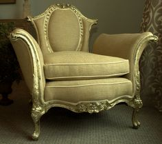 Beautiful neoclassic accent chair