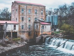 The scenic Weisenberger Mill in Midway. Lovely photo @lwimann. #travelKY #kentucky by kytourism