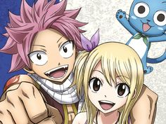 Fairy Tail Collection 20 Blu-ray Cover Artwork Featuring Natsu and Lucy
