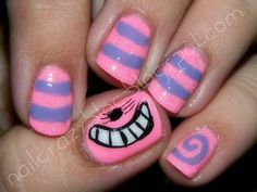 Alice in Wonderland Nail Art | Recent Photos The Commons Getty Collection Galleries World Map App ...