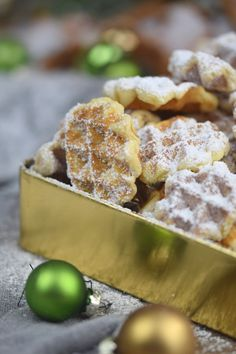Spekulatius - Waffelplätzchen - Speculoos Waffle Christmas Cookies | Das…