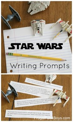 Printable Star Wars Writing Prompts for 3rd-6th Grade