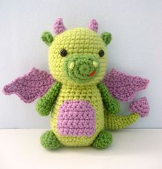 Ravelry: Dragon Crochet Amigurumi Pattern pattern by Amy Gaines