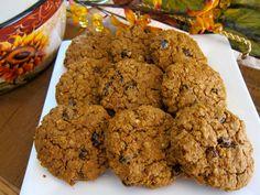 spiced Pumpkin-Raisin Cookie - Grain free