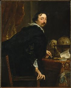 Anthony van Dyck (Flemish, 1599–1641). Lucas van Uffel (died 1637), ca. 1622. The Metropolitan Museum of Art, New York. Bequest of Benjamin Altman, 1913 (14.40.619) #mustache #movember