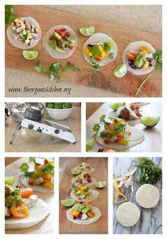 Jicama Taco Party! Grain free, one ingredient, no cook taco shells!