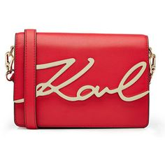 c5519d0c97a0 Karl Lagerfeld Karl Leather Shoulder Bag