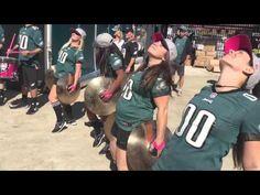 Philadelphia Eagles Drumline -10.10.15 (Saints v. PHI) - YouTube