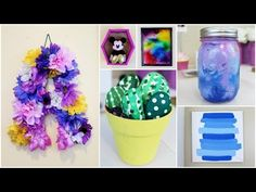 6 CHEAP & EASY DIY SUMMER ROOM DECOR IDEAS | PINTEREST INSPIRED - YouTube