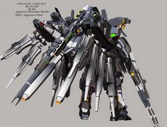 Fanart: RX-93-2AP hi-nu Gundam Aggressive Procedure Module version 1 - Gundam Kits Collection News and Reviews